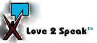 Love2Speak Logo